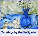 Paintings by Goldie Spieler